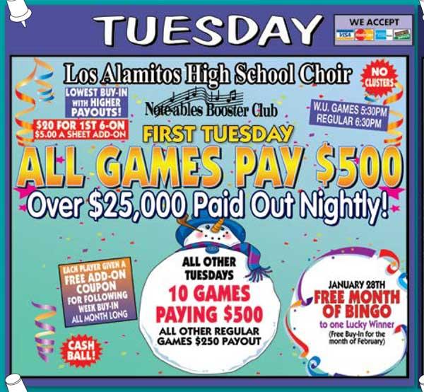 Tuesday Night Ad