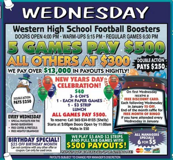 Wednesday Night Ad